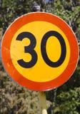 Hastighetsbegränsning Royaltyfri Bild
