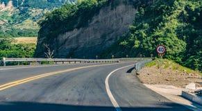 Hastighetsbegränsningtecken 40 Arkivbilder