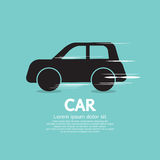 Hastighetsbil. Fotografering för Bildbyråer
