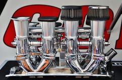 Hastighetsbuntar för hög kapacitet och intaggrenrör Royaltyfri Fotografi