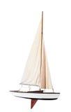 Hastighetsfartyget med seglar vecklat ut Fotografering för Bildbyråer