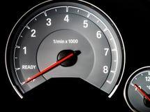 Hastighetskontrollinstrumentbräda Royaltyfri Foto