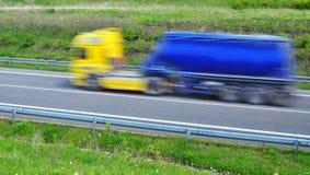 Hastighetslast Fotografering för Bildbyråer