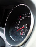 Hastighetsmätare Fotografering för Bildbyråer