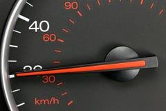 Hastighetsmätare på 20 MPH Royaltyfri Bild