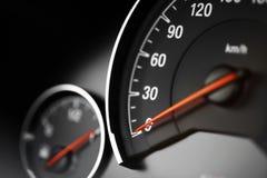 Hastighetsmätaredetalj Royaltyfri Bild