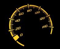 Hastighetsmätaremotorcykel Royaltyfria Foton