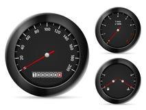 Hastighetsmätare Royaltyfri Fotografi