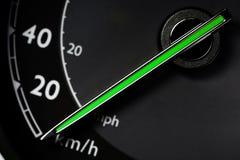 Hastighetsmätaredetalj Royaltyfria Bilder