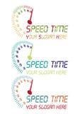 Hastighetstidlogo Arkivfoto