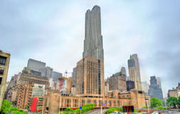 Hastighetsuniversitet i Manhattan, New York City Royaltyfria Foton