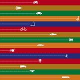 hastighetsvektor royaltyfri illustrationer