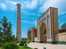 Hastimom清真寺在塔什干,乌兹别克斯坦 库存图片