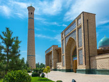 Hastimom Mosque in Tashkent, Uzbekistan. Hastimom beautiful mosque in a clear sunny day in Tashkent, Uzbekistan stock images
