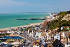 Hastings östliga Susses England royaltyfri fotografi