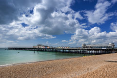 Hastings beach royalty free stock images