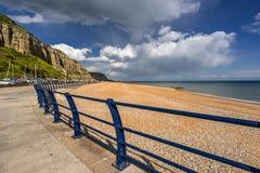 Hastings beach Stock Photo