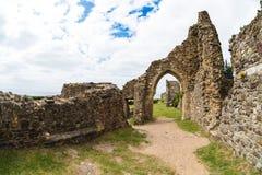 Hastings Castle στοκ φωτογραφίες