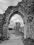 Hastings Castle Royalty Free Stock Photos