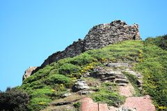 Hastings Castle Stock Images