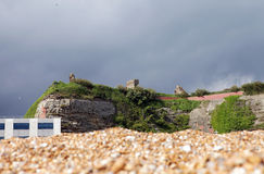 Hastings castle ruin Stock Photography