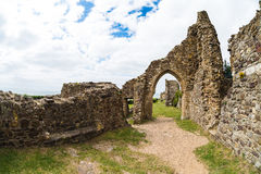 Hastings Castle Stock Photos