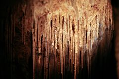 Hastings Caves Royalty Free Stock Photos