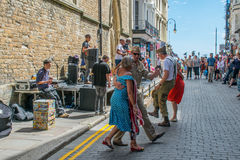 Hastings celebrates American Independance day with a street party Stock Images