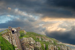 Hastings east hill lift England Stock Images