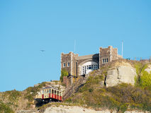 HASTINGS, EAST SUSSEX/UK - NOVEMBER 06 : East Hill Funicular Rai Stock Images
