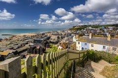 Hastings em Sussex Fotos de Stock Royalty Free