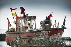 Hastings fishing boat Royalty Free Stock Photography