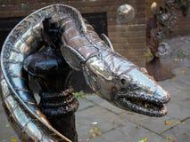 HASTINGS, HET OOSTEN SUSSEX/UK - 06 NOVEMBER: Koning Wrapped in Coi Royalty-vrije Stock Fotografie