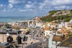 Hastings i Sussex arkivbilder