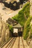 Hastings kabelelevator Royaltyfria Bilder