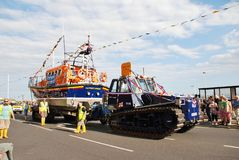 Hastings lifeboat, England Stock Image