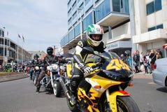 Hastings May Day biker rally Stock Photo
