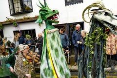 Hastings Mayday Jack στο πράσινο φεστιβάλ 2017 Στοκ Εικόνα