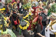 Hastings Mayday Jack στο πράσινο φεστιβάλ 2017 Στοκ Φωτογραφία