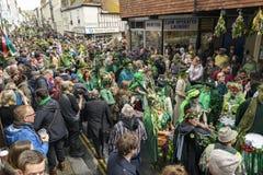 Hastings Mayday Jack στο πράσινο φεστιβάλ 2017 Στοκ φωτογραφία με δικαίωμα ελεύθερης χρήσης