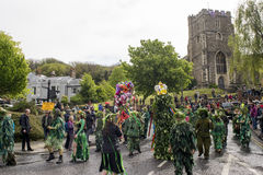 Hastings Mayday Jack in the Green Festival 2017 Royalty Free Stock Photography
