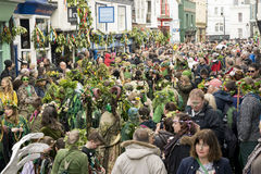 Hastings Mayday Jack w Zielonym festiwalu 2017 obrazy royalty free