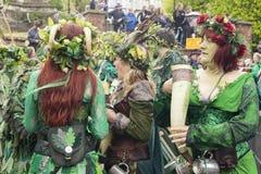 Hastings maydaystålar i den gröna festivalen 2017 Royaltyfri Fotografi