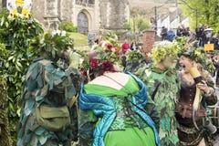 Hastings maydaystålar i den gröna festivalen 2017 Arkivbilder