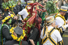 Hastings maydaystålar i den gröna festivalen 2017 Fotografering för Bildbyråer