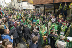 Hastings maydaystålar i den gröna festivalen 2017 Royaltyfri Foto
