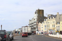 Hastings miasta ulica Zjednoczone Królestwo Zdjęcie Royalty Free