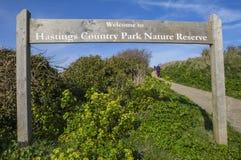 Hastings-Nationalpark-Naturreservat lizenzfreies stockfoto