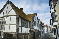Hastings old town Royalty Free Stock Photography
