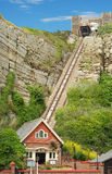 Hastings orientali Inghilterra dell'elevatore della collina Immagine Stock Libera da Diritti
